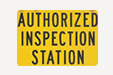 authorized inspection station